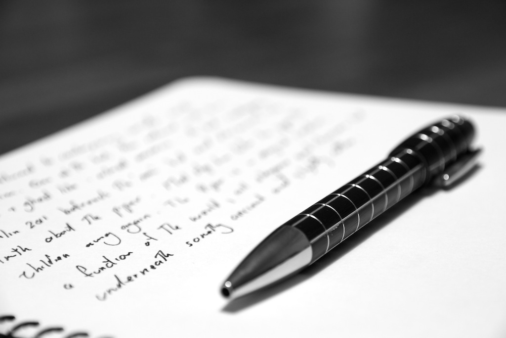 pen and paper Put pen to paper 1 to write or begin to write something, especially on paper my first advice to anyone struggling with their emotions is keep a small journal with.